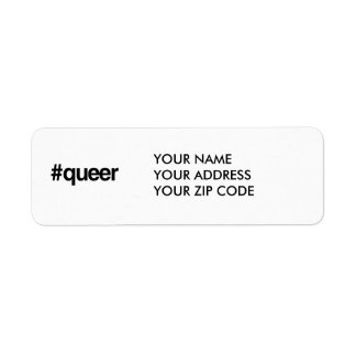 HASHTAG QUEER -.png Return Address Label