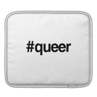 HASHTAG QUEER -.png Sleeves For iPads