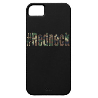 Hashtag Redneck in Green Camouflage iPhone 5/5S Case