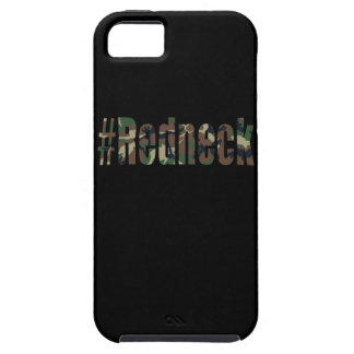 Hashtag Redneck in Green Camouflage Case For iPhone 5/5S