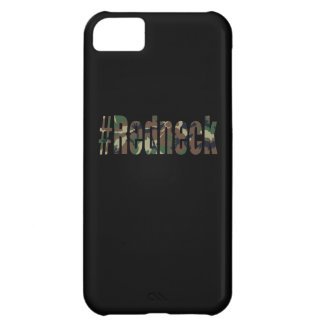 Hashtag Redneck in Green Camouflage Cover For iPhone 5C