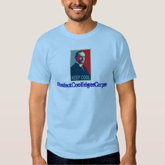 Hashtag: ¡Reelija el cadáver de Coolidge! Playeras
