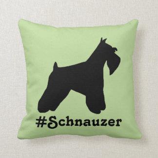 Hashtag Schnauzer Pillow