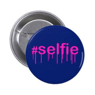 Hashtag Selfie Drooling Pin