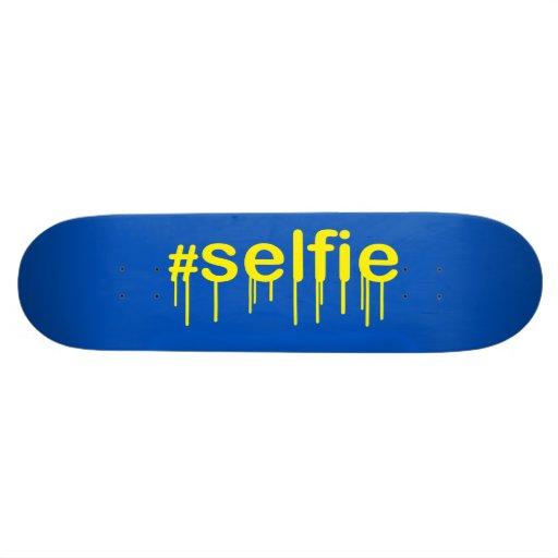 Hashtag Selfie Drooling Skate Board Decks