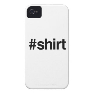HASHTAG SHIRT -.png iPhone 4 Case