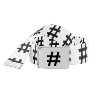 #HASHTAG - símbolo de la etiqueta del hachís Correa