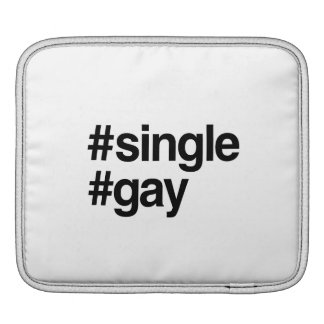 HASHTAG SINGLE GAY -.png Sleeve For iPads