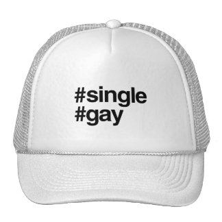 HASHTAG SINGLE GAY -.png Trucker Hat
