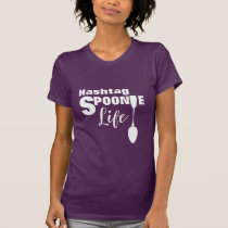 Hashtag Spoonie Life Chronic Illness Graphic T-Shirt