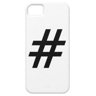 hashtag text symbol letter iPhone SE/5/5s case