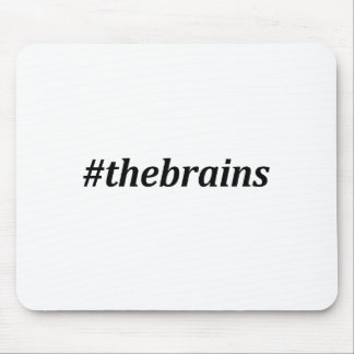 Hashtag - The Brains Mouse Pad
