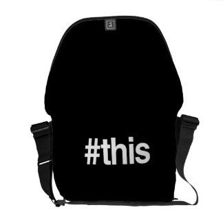 HASHTAG THIS COURIER BAGS
