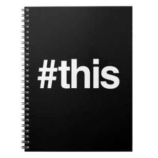 HASHTAG THIS JOURNAL