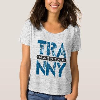 Hashtag TRANNY - Love Rebuilt Transmissions, Blue Tshirt