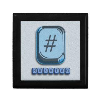 Hashtag Trinket Box