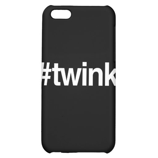 HASHTAG TWINK iPhone 5C CASES