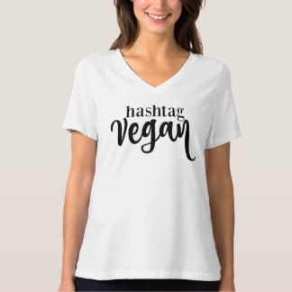 hashtag vegan woman's loose fit t-shirt