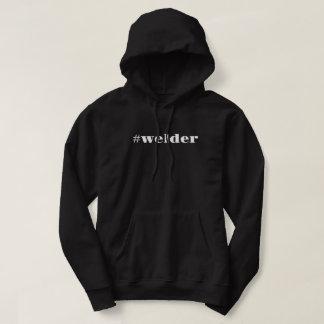 hashtag welder hoodie