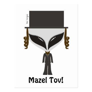 Hasidic Jew Postcard