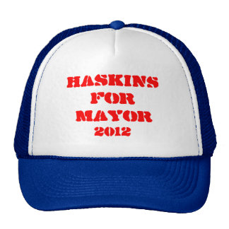 Haskins for Mayor Hat
