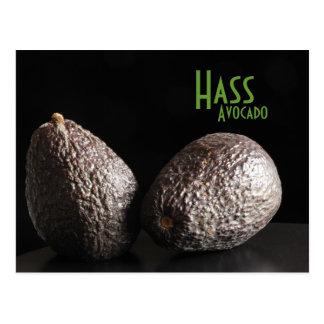 Hass, Avocado Postcard