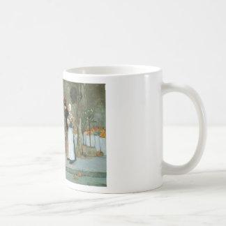 Hassam At The Florist Classic White Coffee Mug