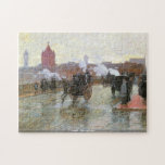 Hassam - Clearing Sunset puzzle