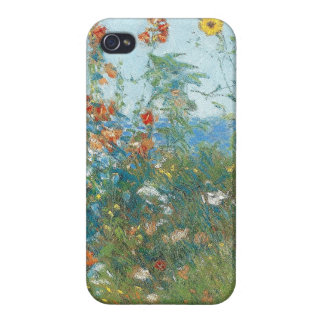 """Hassam's """"Poppies, Isle of Shoals"""" iPhone 4/4S Covers"""