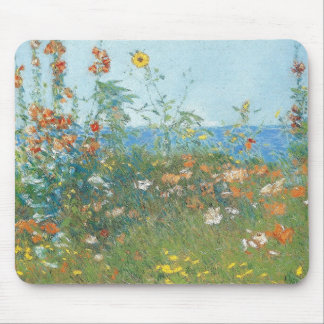 "Hassam's ""Poppies, Isle of Shoals"" - Mousepad"