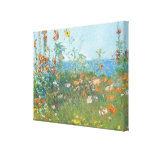 """Hassam's """"Poppies, Isle of Shoals"""" - Wrapped Canvas Prints"""