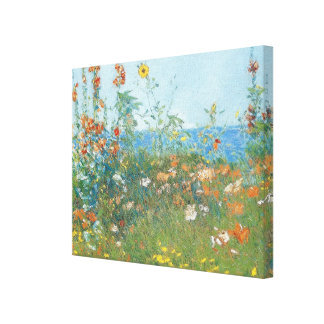 "Hassam's ""Poppies, Isle of Shoals"" - Wrapped Canvas Print"