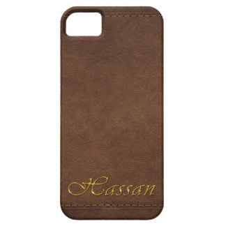 HASSAN Leather-look Customised Phone Case