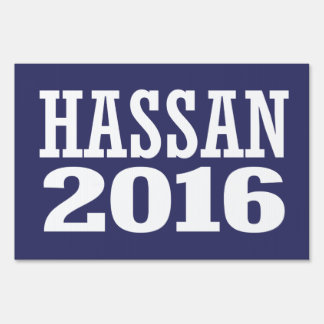 Hassan - Maggie Hassan 2016 Lawn Sign