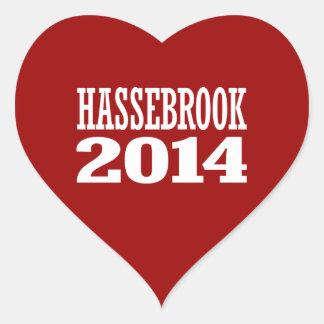 HASSEBROOK 2014 HEART STICKERS