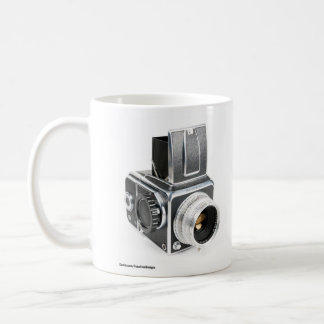 Hasselblad camera mug