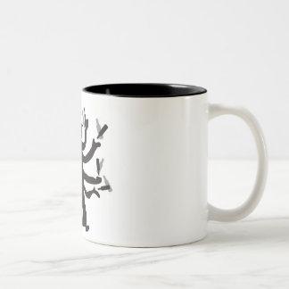 Hassidic Bottle Dance Two-Tone Coffee Mug