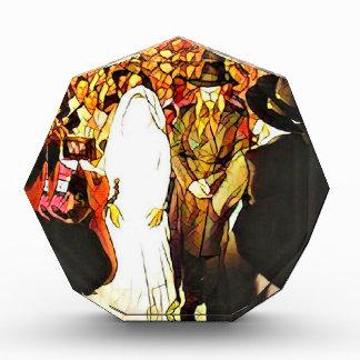 Hassidic Wedding Acrylic Award