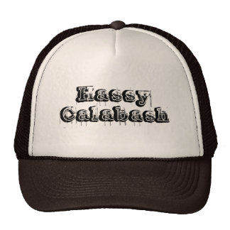 Hassy Calabash truckers hat
