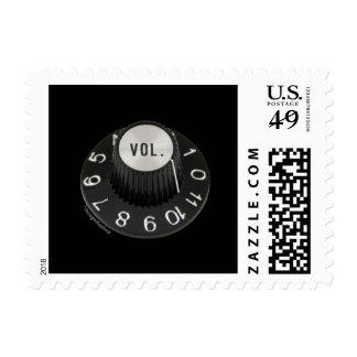 Hasta 11 dados vuelta (ningún texto) sello postal