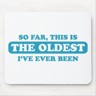 Hasta ahora, éste es el más viejo que he estado nu tapetes de ratón