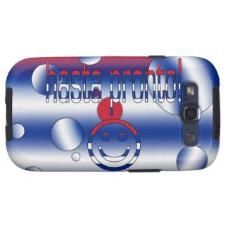 ¡Hasta aprisa! La bandera de Cuba colorea arte pop Galaxy S3 Protector