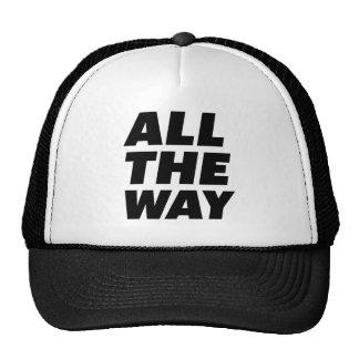 HASTA EL FINAL gorra del camionero del lema de la