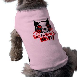 Hasta La Vista Kitty Dog   Dog Tee