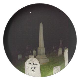 Hasta muerte hacemos placa del Parte-Humor-Boda Platos