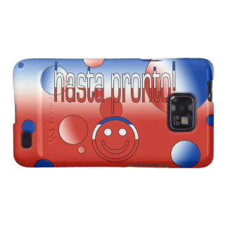 Hasta Pronto! Chile Flag Colors Pop Art Samsung Galaxy S2 Case
