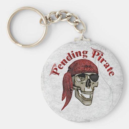 Hasta que finalice pirata llavero redondo tipo pin