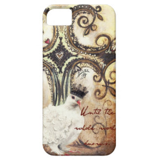 Hasta que-Pintado especialmente para los diarios iPhone 5 Funda