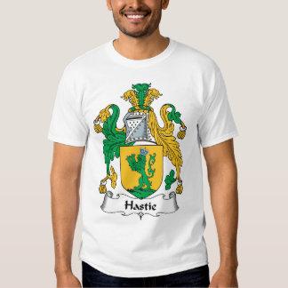 Hastie Family Crest Tshirts