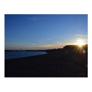 Hastings At Sunset Postcard